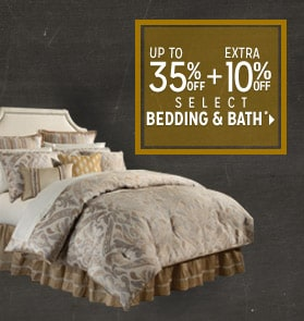 Extra 10% off Select Bedding & Bath*