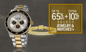 Extra 10% off Select Jewelry & Watches*