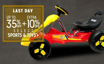 Extra 10% off Select Sports & Toys*