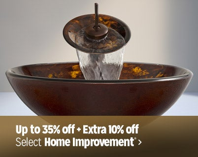 Up to 35% off + Extra 10% off select Home Improvement*