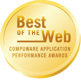 Best OF THE Web COMPUWARE APPLICATION PERFORMANCE AWARDS