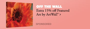 Extra 15% off Featured Art by ArtWall