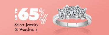 Extra 15% off Select Jewelry & Watches*