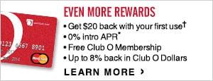 Overstock.com MasterCard Card