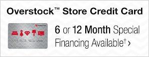 OverstockTM Store Credit Card - 6 or 12 Month Special Financing Available?