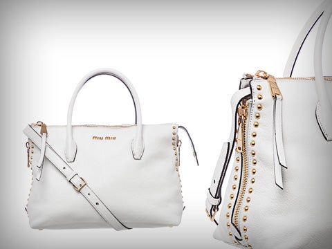 Chic White Bag