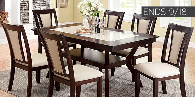 Up to 40% off + Extra 10% off Select Dining Room Furniture* - Ends 9/18
