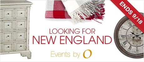 ENDS 9/18. Events by O. Looking for New England