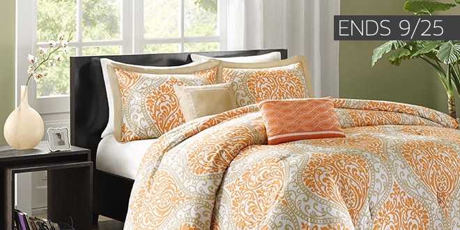 Up to 50% off + Extra 10% off Select Bedding & Bath* - Ends 9/25