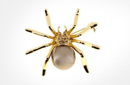 Spooky Spider Pendant
