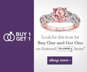 Buy 1 Get 1 - Look for this icon for Buy One Get One on featured Miadora items* - Shop Now