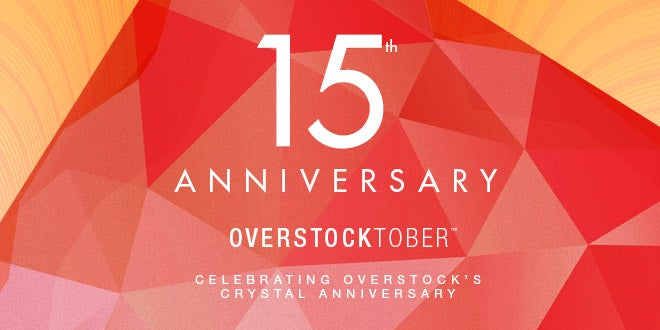 Up to 55% off + Extra 15% off Select Overstocktober Products*