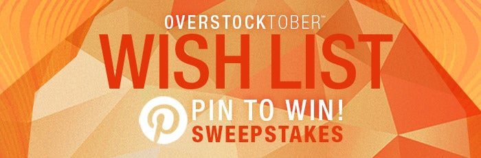 Wish List Pin to Win Sweepstakes
