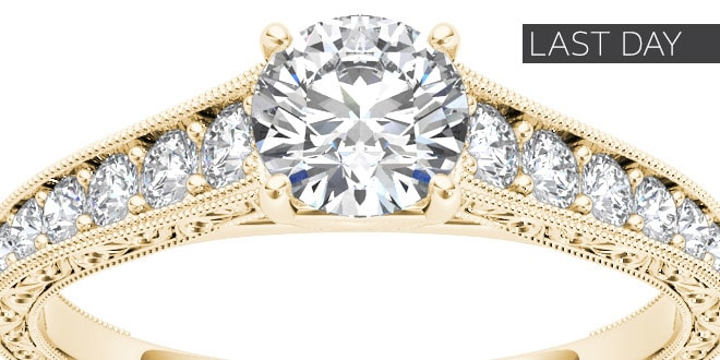 Up to 60% off + Extra 10% off Select Diamond Jewelry & Watches* - Last Day