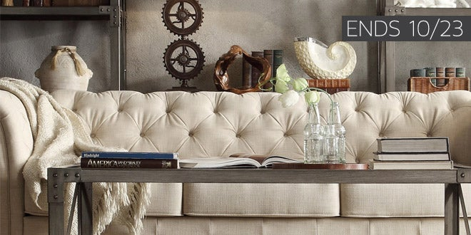 Up to 40% off + Extra 10% off Select Living Room Furniture* - Ends 10/23