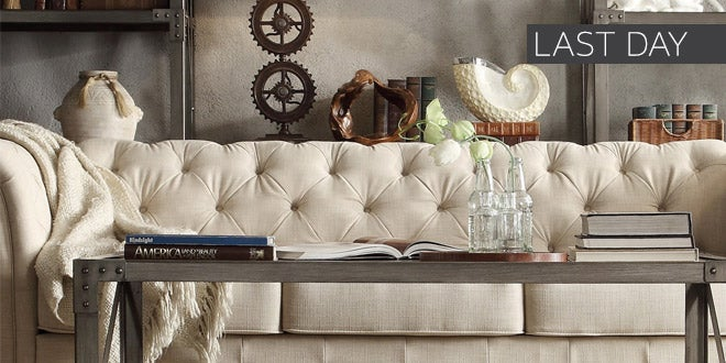 Up to 40% off + Extra 10% off Select Living Room Furniture* - Last Day