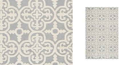 Safavieh Handmade Moroccan Cambridge Silver Wool Area Rug (5' x 8')