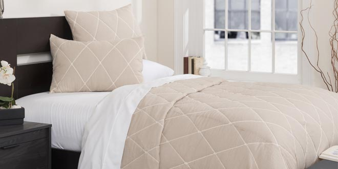 Up to 50% off + Extra 10% off Select Bedding & Bath*
