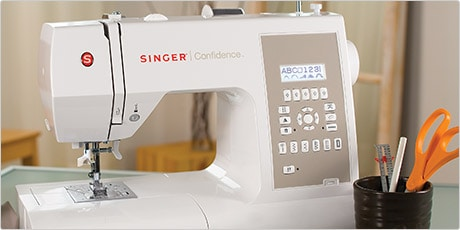 Singer Confidence 7470 Computerized Sewing Machine w/225 Stitches