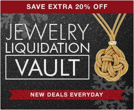 Save Extra 20% Off Jewelry Liquidation Vault - New Deals Everyday