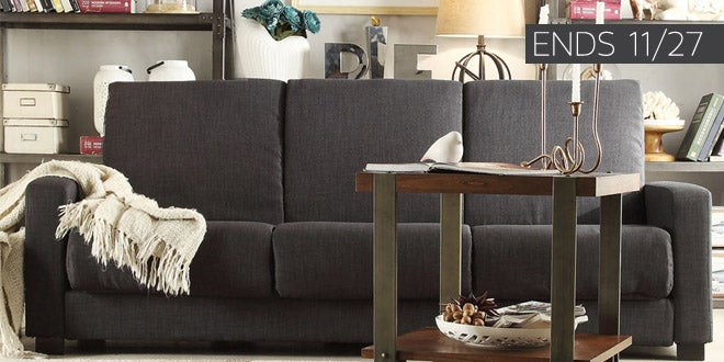 Up to 50% off + Extra 10% off Select Living Room Furniture* Ends 11/27
