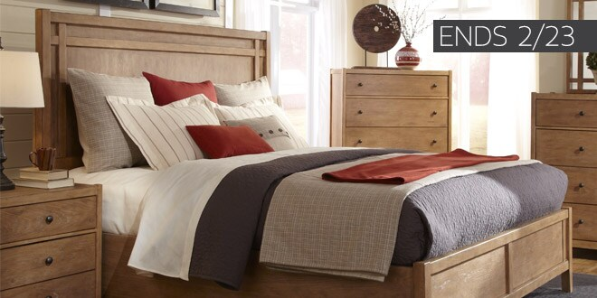 Ends 02 23 Up To 50 Off Extra 10 Off Select Bedroom Furniture