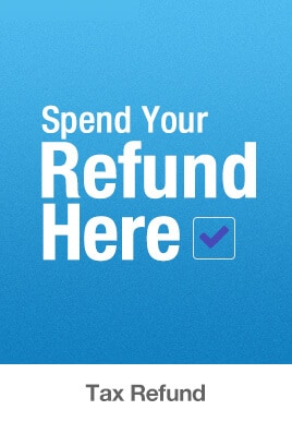 Spend Your Refund Here