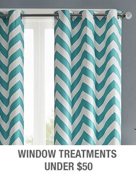 Window Treatments Under $50