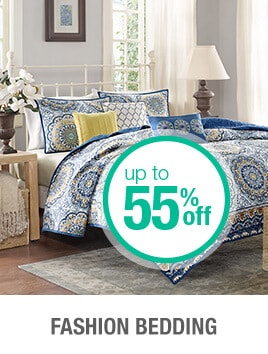 Up to 55% off Fashion Bedding