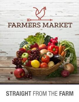 Farmers Market. Straight From the Farm