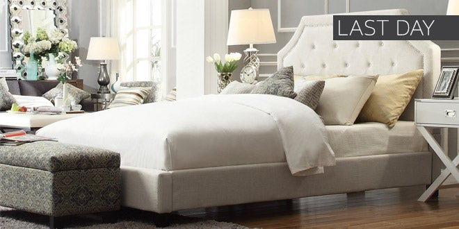 Last Day - Up to 50% off + Extra 10% off Select Bedroom Furniture*
