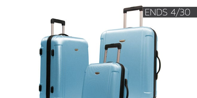 Ends 04/30 - Up to 60% off + Extra 10% off Select Luggage & Bags*