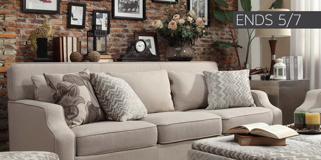Ends 5/07 - Up to 45% off + Extra 10% off Select Living Room Furniture*
