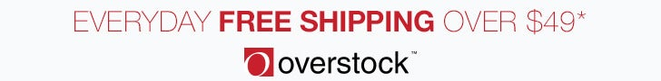 Everyday Free Shipping over $49*
