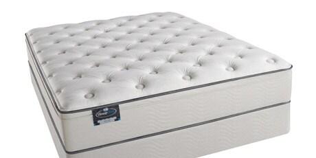 Simmons BeautySleep Kenosha Plush Queen-size Mattress Set