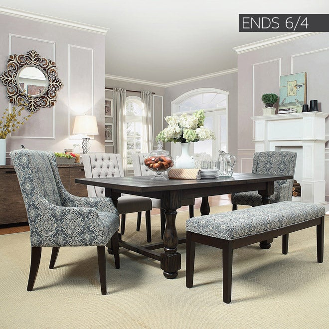 Ends 06/04 - Up to 45% off + Extra 10% off Select Dining Room Furniture*