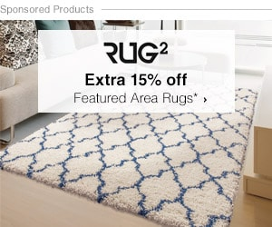 Rug2 - Extra 15% off Featured Area Rugs*