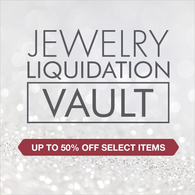 Up to 50% off Select Items Jewelry Liquidation Vault