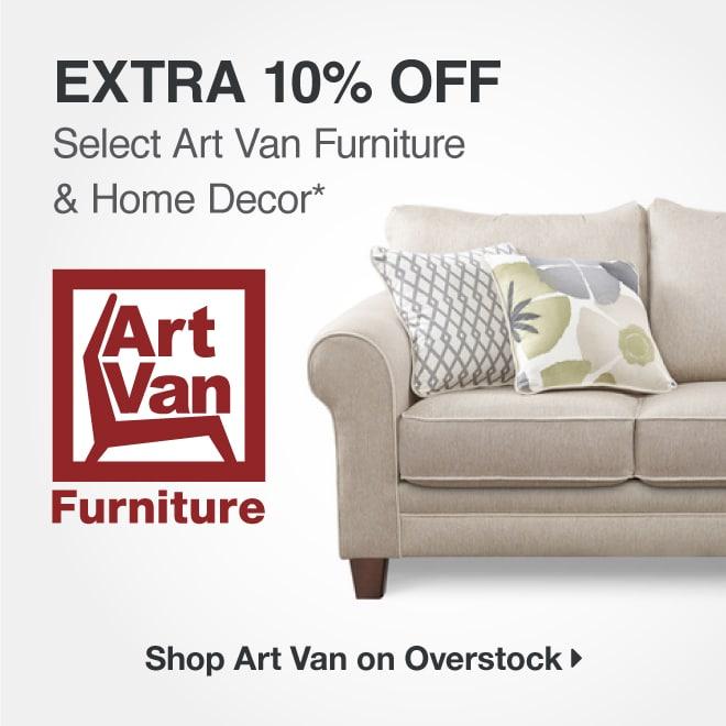 Extra 10% off Select Art Van Furniture & Home Decor*