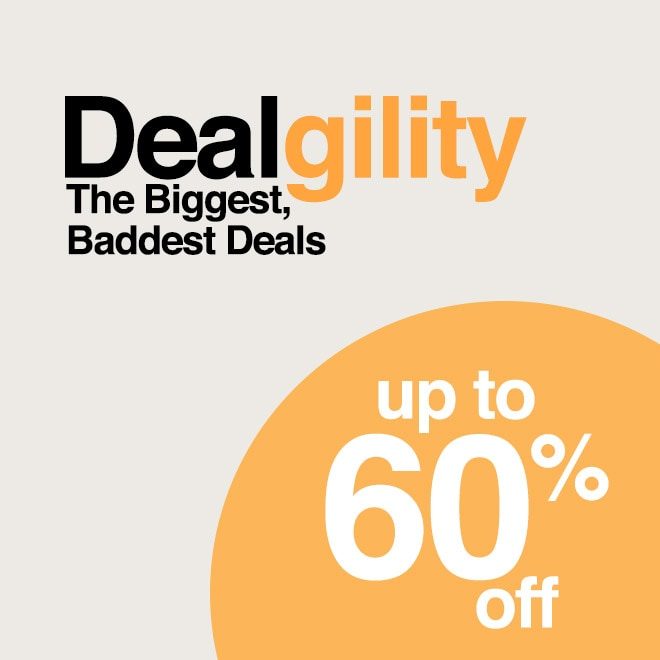 Up to 60% off Dealgility