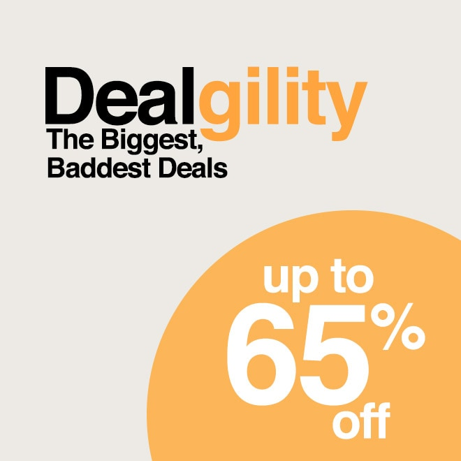 Up to 65% off Dealgility