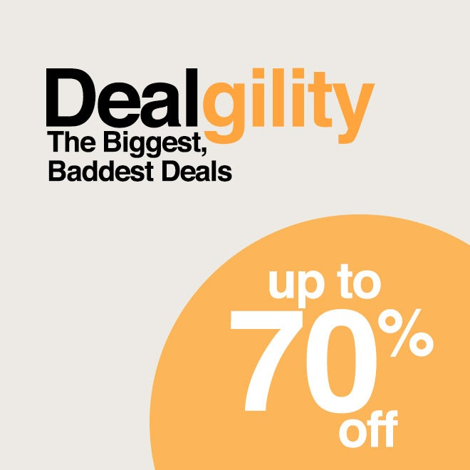 Up to 70% off Dealgility