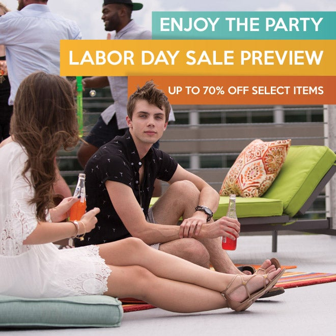 Up to 70% off Labor Day Sale