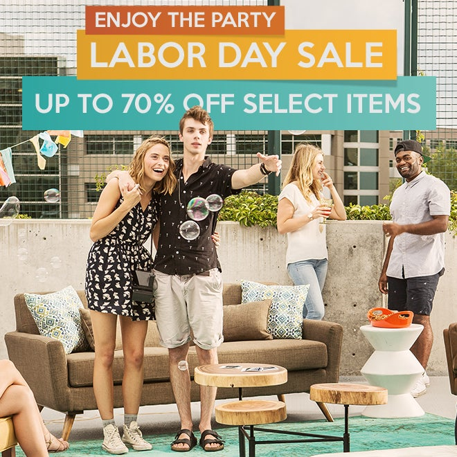 Labor Day Sale Up to 70% off Select Items