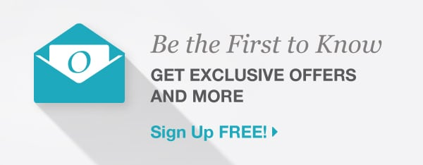 Be the First to Know - Get Exclusive Offers And More - Sign Up Free!