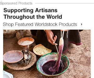 Supporting Artisans Throughout the World - Shop Featured Worldstock Products