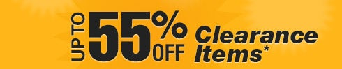 Clearance Bins - Up to 55% off Clearance Items* - Huge Savings on Brand-Name Products