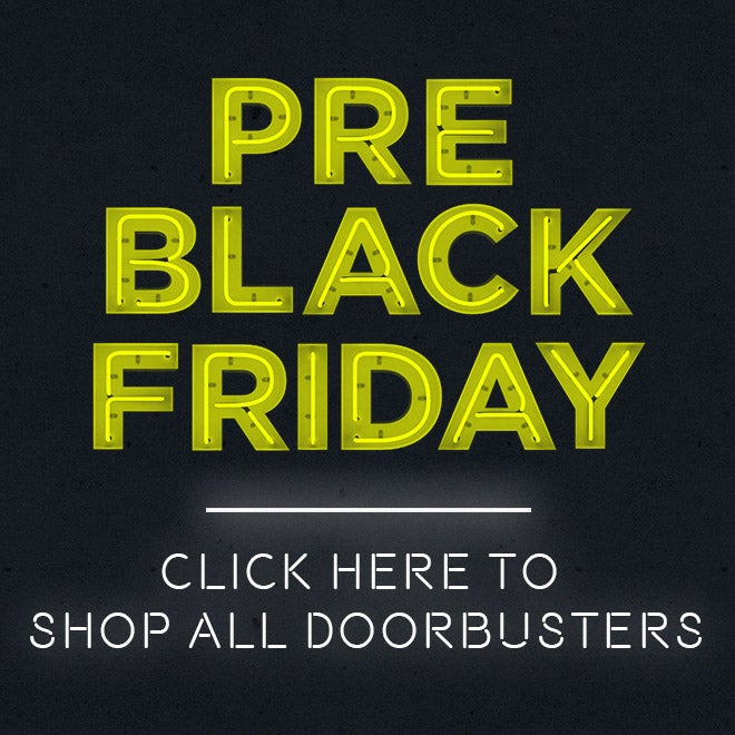 Up to 70% off Pre-Black Friday Doorbusters