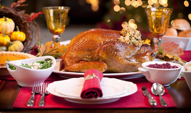 Festive Thanksgiving Spread
