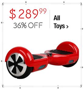 Self Balancing Hover Board Scooter $289.99 > 36% Savings